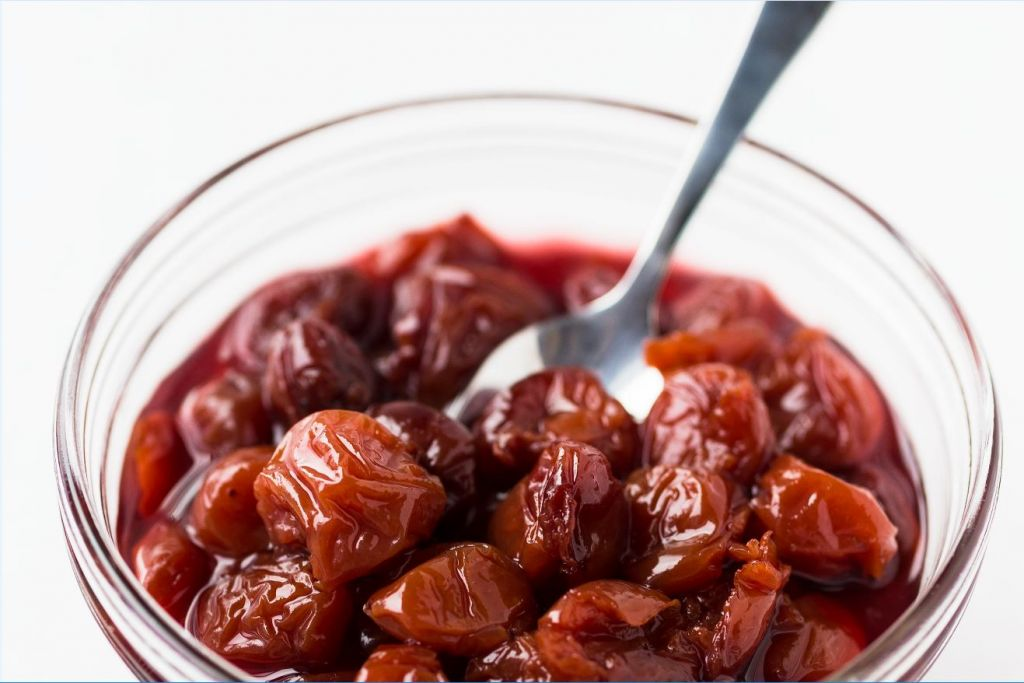 Preserved cherries from 'The Joys of Jewish Preserving,' by Emily Paster. (Courtesy)