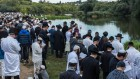 Thousands Of Hasidic Jews Gather For The Annual Rosh Hashanah Pilgrimage