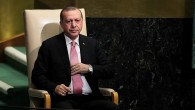 Le président turc Recep Tayyip Erdogan après son discours devant l'Assemblée générale des Nations unies, à New York, le 19 septembre 2017. (Crédit : Drew Angerer/Getty Images/AFP)