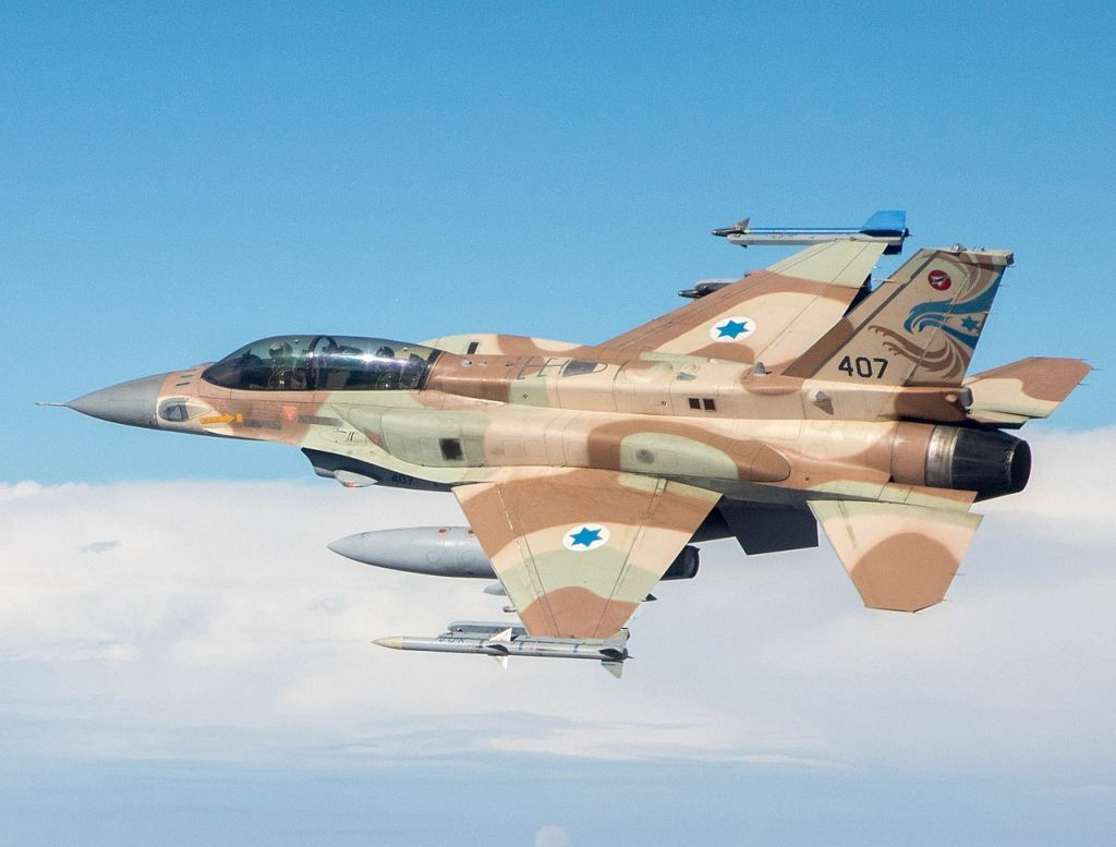 Israel jets under fire from Syria retaliate with bombing raid near Damascus