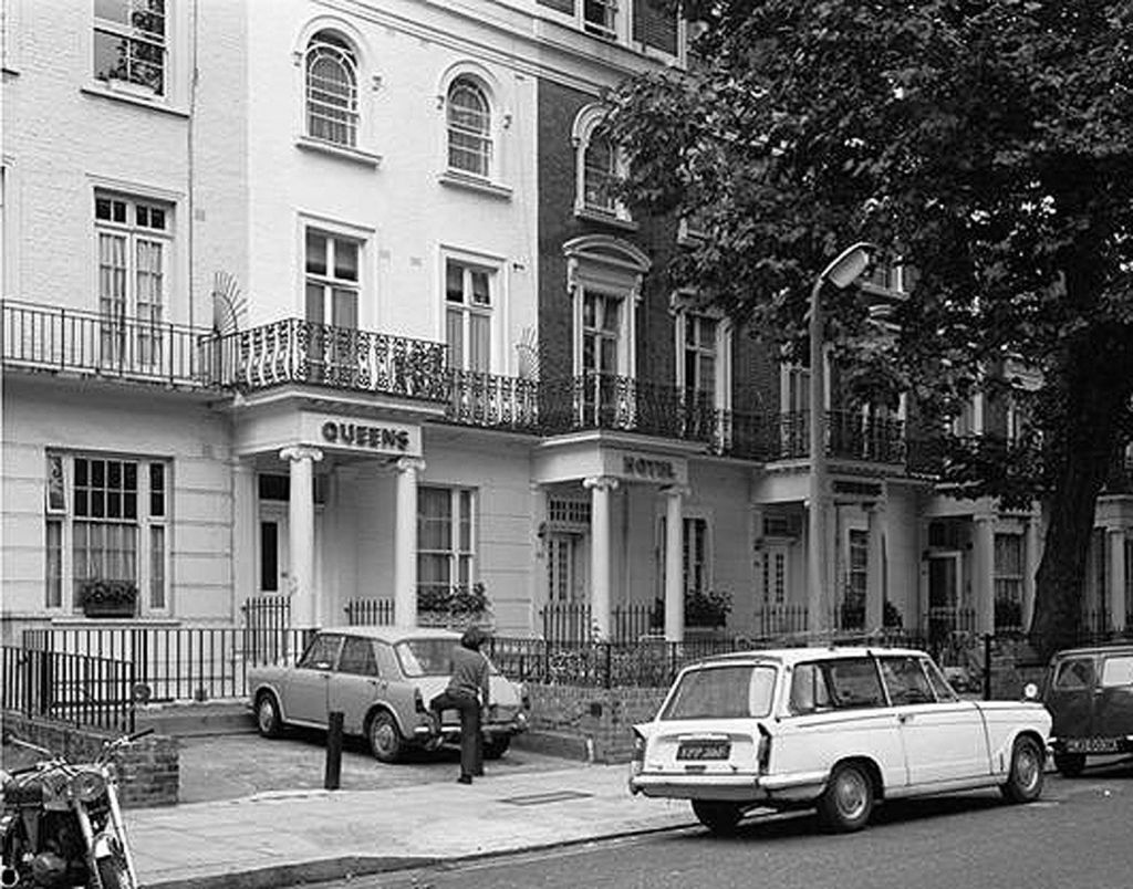 The Queens Hotel in Bayswater, west London, where the body of Emmy Werner was found by a chambermaid. Photo credit: Metropolitan Police/PA Wire