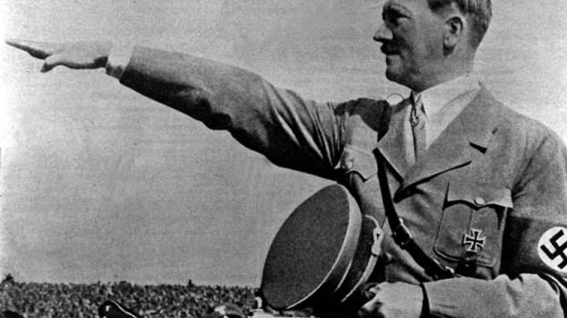 Nazi dictator Adolf Hitler  Photo credit: PA/PA Wire