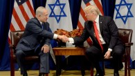 Prime Minister Benjamin Netanyahu with with US President Donald Trump in New York  Photo by Avi Ohayon/GPO via JINIPIX