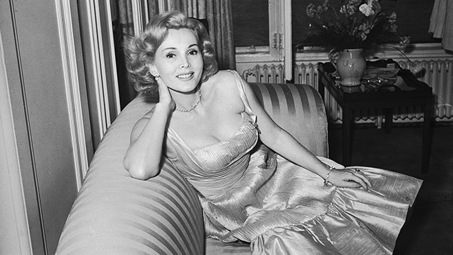 Zsa Zsa Gabor in 1952 (Nixon/Express/Getty Images)
