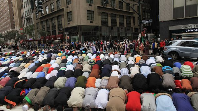 American Muslim Day Parade Winds Through New York City