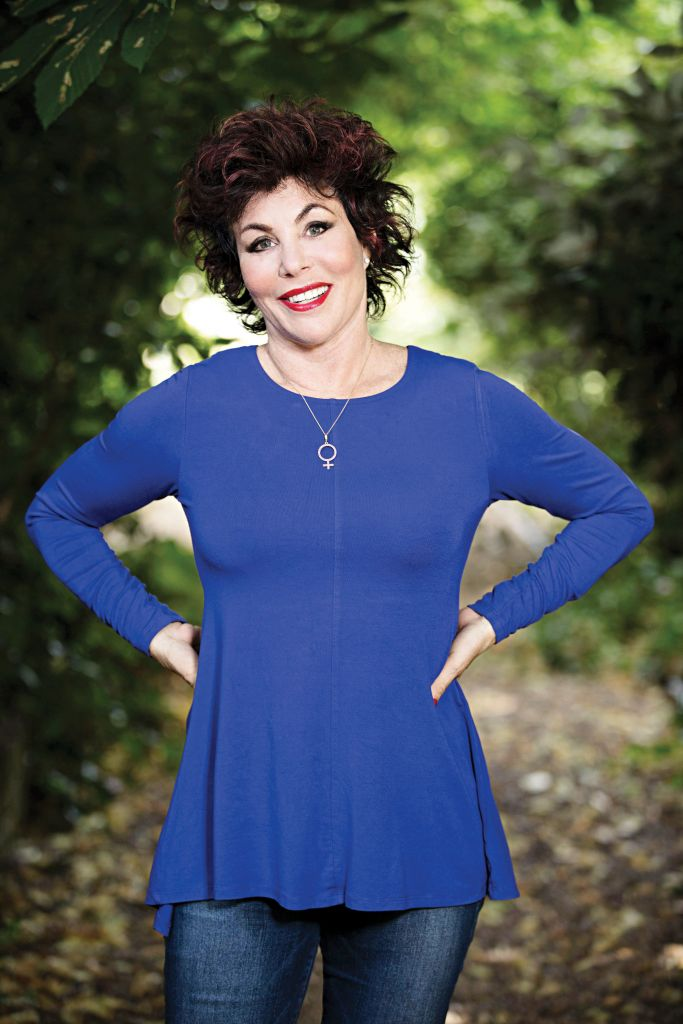 Comedienne and mental health advocate Ruby Wax;