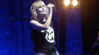 Chrissie Hynde et The Pretenders à Tel Aviv le 23 septembre 2017 (Capture d'écran : YouTube )