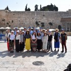 The Real Deal group at the Western Wall