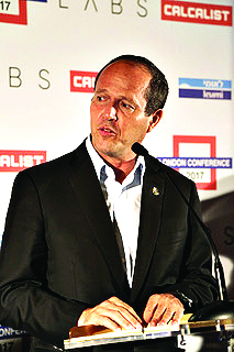 Mayor of Jerusalem, Nir Barkat.