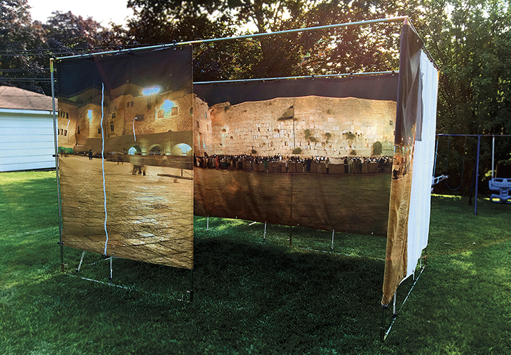 The Panoramic Sukkah