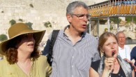 Rick Jacobs at the kotel