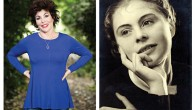 Ruby Wax and her mother Berta as a young woman