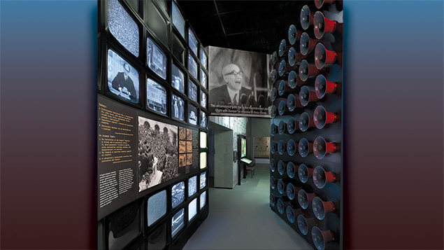The Museum of the History of Polish Jews features exhibits that Dr. Barbara Kirshenblatt-Gimblett helped curate.