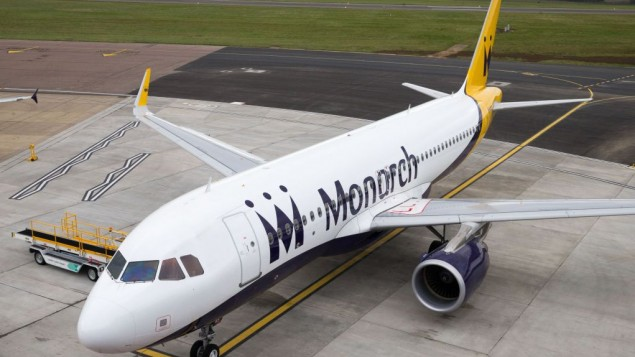 Monarch plane at Luton Airport  Photo credit: Steve Parsons/PA Wire