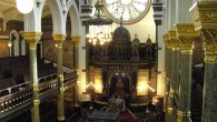 The inside of a Synagogue (New West End)