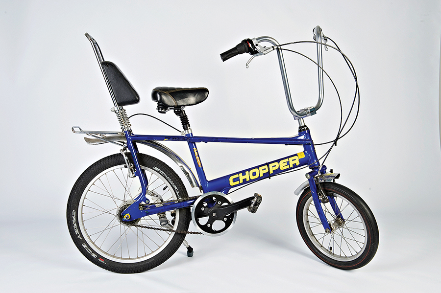 The 1970s Raleigh Chopper bicycle designed by Tom Karen