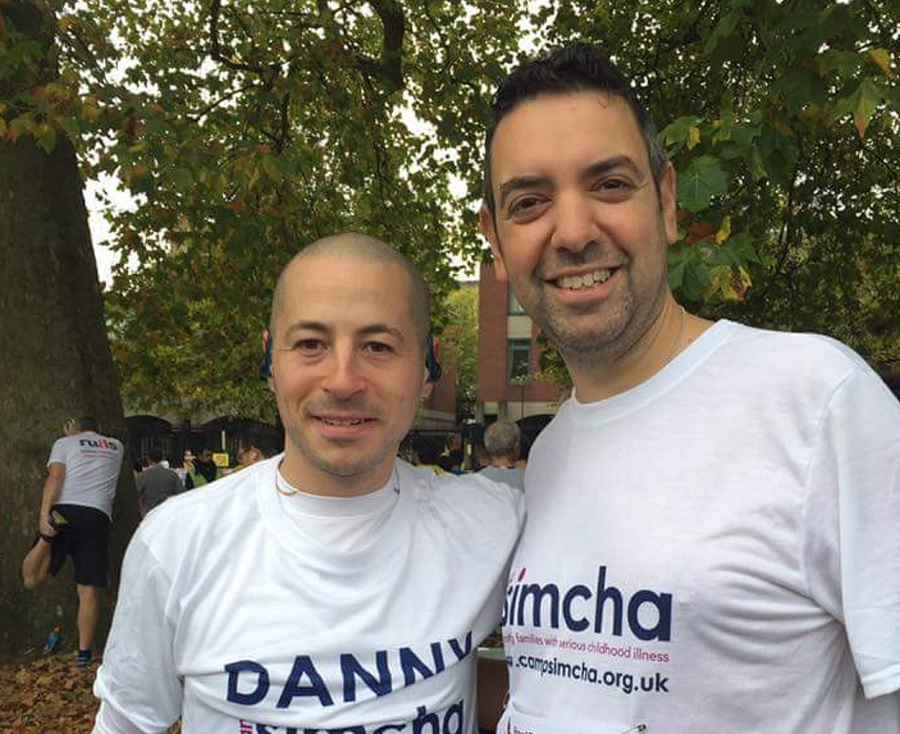 Camp Simcha's Danny Myers and Lee Bladon