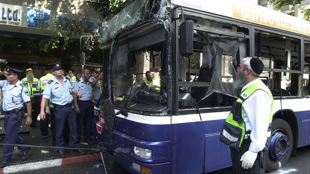 Suicide Bombing Kills Five In Tel Aviv
