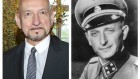 Sir Ben Kingsley (left) and notorious Nazi Adolf Eichmann