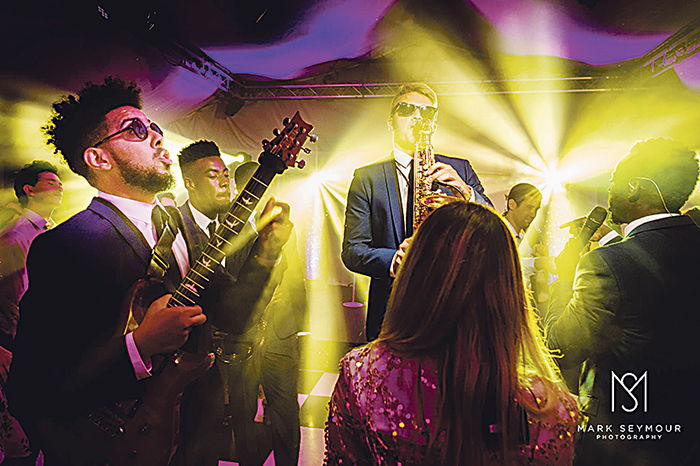 The Function Band can provide line-ups to  accommodate any space and budget, from DJs and singers up to a 20-piece band and beyond