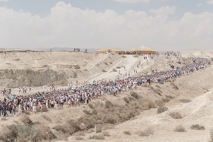 The two-week walk took thousands of women across Israel.