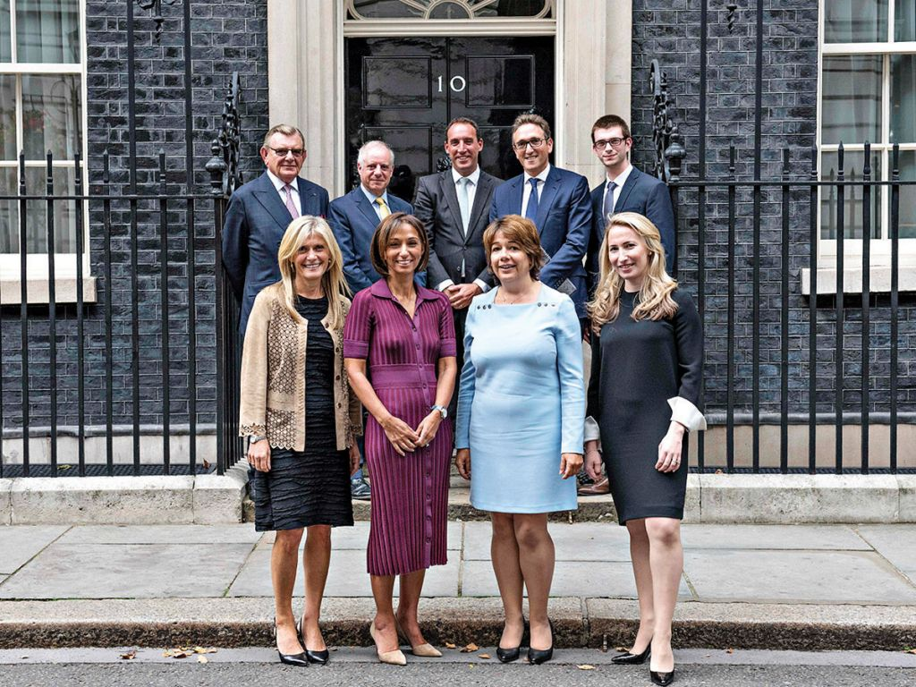 Jonathan led a delegation of communal leaders to meet Theresa May at Downing Street last month