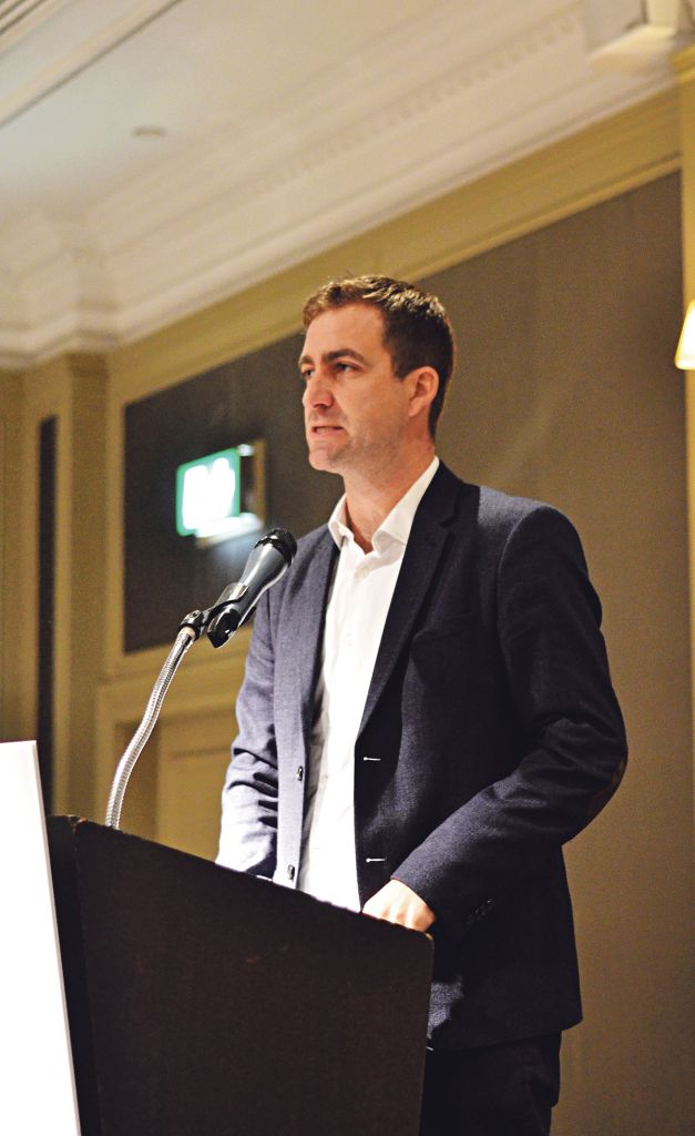 Timely warning: Brendan Cox