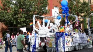 Pride float back