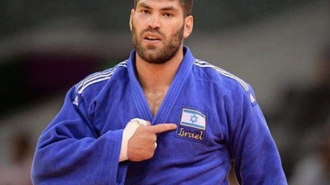 Ori Sasson won't be able to compete with the Israeli flag on his uniform in Abu Dubai