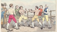 The famous battle between Richard Humphreys and Daniel Mendoza...' (Richard Humphries; Daniel Mendoza), by Samuel William Fores (floruit 1841), published 1788