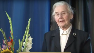 Ursula Haverbeck  Source: Screenshot from Youtube