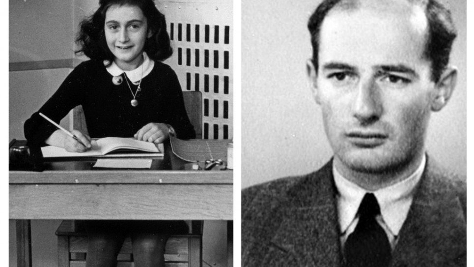 Anne Frank and Raoul Wallenberg