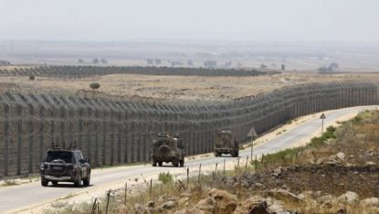 ISRAEL-SYRIA-CONFLICT-GOLAN HEIGHTS-HOSPITAL