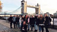 Arab New High School and Hayovel School pupils make friends in London