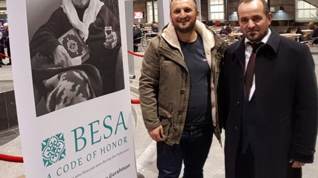 Members of the British Albanian Community of the UK at Middlesex University