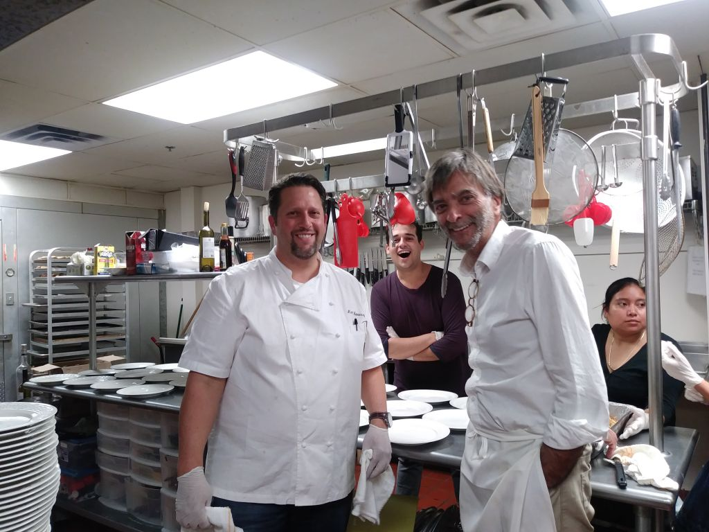 2 gentile chefs elevate kosher food atlanta jewish times for Keeping a kosher kitchen