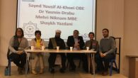 The panel of Muslim speakers at JCoSS