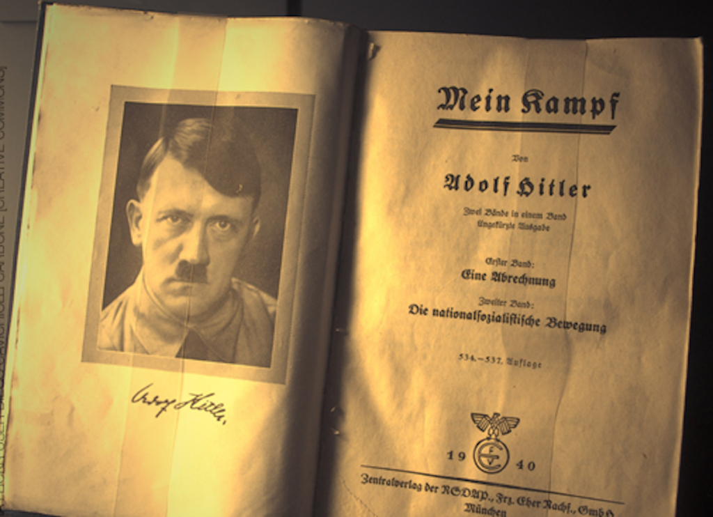 an analysis of the adolf hitlers work mein kampf