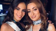 Miss Israel, Adar Gandelsman, left, and Miss Iraq, Sarah Idan, posing for a photo on Gandelsman's Instagram page. (Instagram)