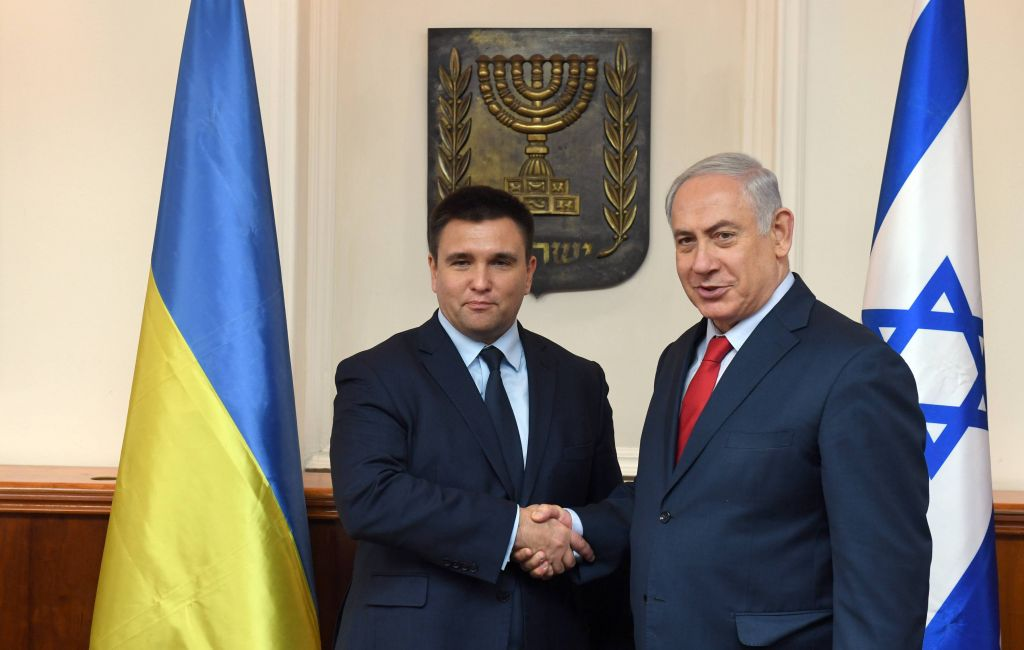 PM-Netanyahu-and-Ukrainian-FM-Klimkin-1.