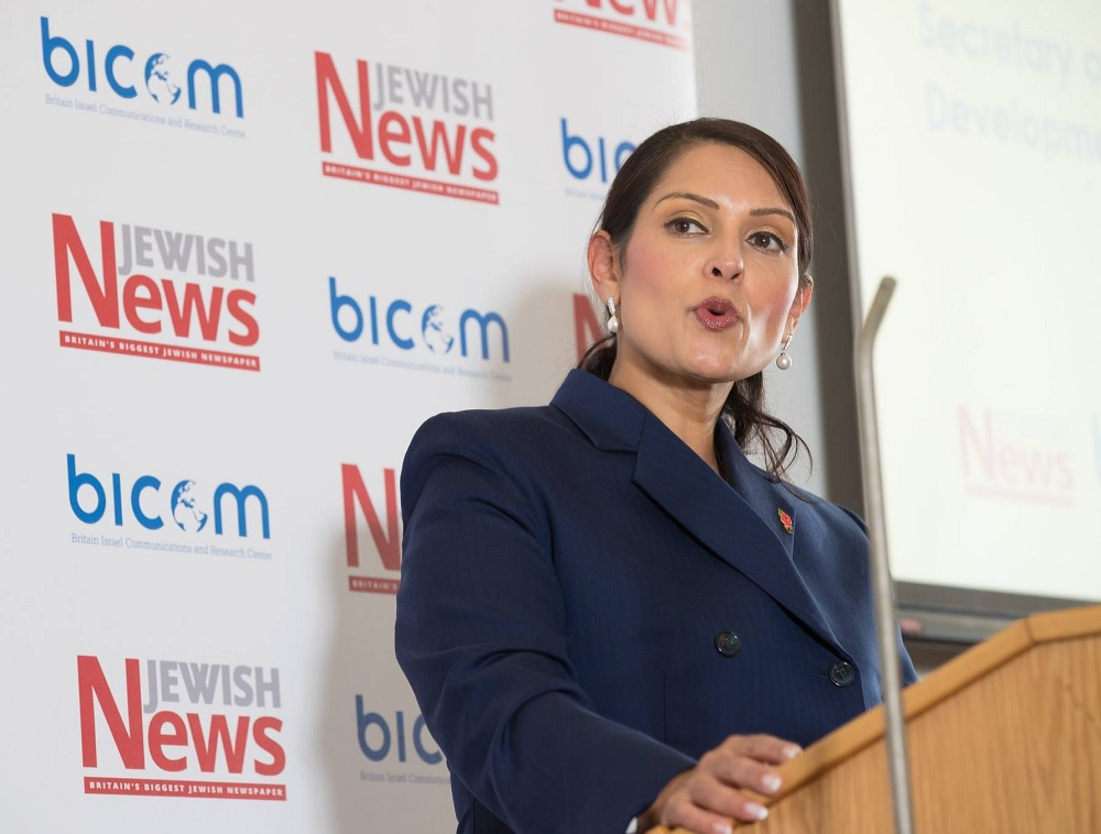 Priti Patel: Israel and Britain can extend and improve their partnership