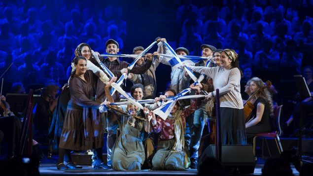 The Royal Albert Hall hosted the final event, celebrating the Balfour Centenary, and will now host a Yom Ha'atzmaut party