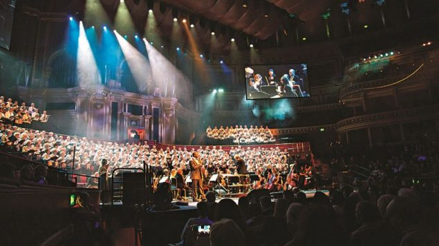 The Royal Albert Hall hosted the final event, celebrating the Balfour Centenary