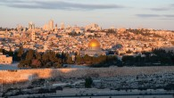 Jerusalem's Old City's iconic skyline