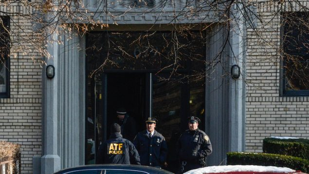 Law Enforcement Officials Investigate Brooklyn Home Of Suspected Terrorist