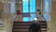CCTV footage shows Mark Zahra inside the synagogue, an act for which he's now been jailed. (Credit: @Shomrim on Twitter)