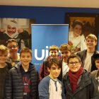 King David and Yavneh College boys volunteering in Manchester