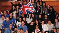 Some of the 100 UK participants who took part in the Olami Summit