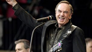US musician Neil Diamond has announced he is retiring from touring following a recent diagnosis of Parkinson's disease.   Photo credit: Yui Mok/PA Wire