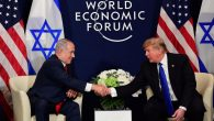 President Trump sits down with Israeli PM Benjamin Netanyahu in Davos, at the World Economic Forum
